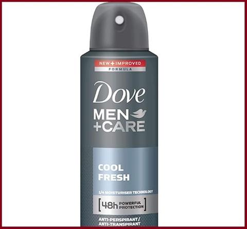 Deodorante uomo spray