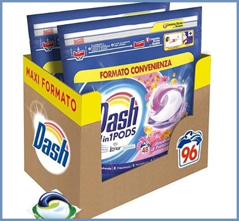 Detersivo lavatrice capsule