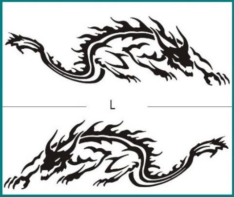 Disegni Tatuaggi Draghi E Dragoni