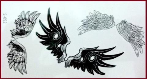 Disegni Tattoo Ali Di Angeli E Demoni