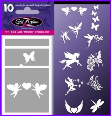 Tatuaggi temporanei fatine e unicorni