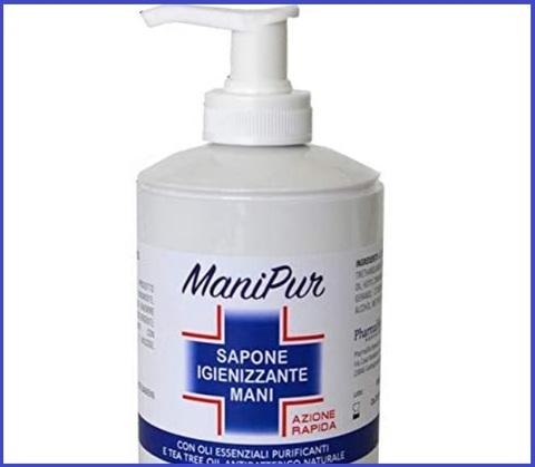 Igienizzante mani sapone