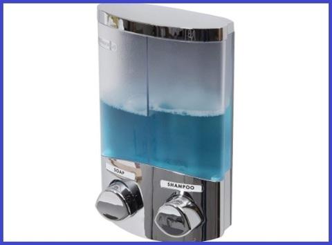 Dispenser doppio per sapone