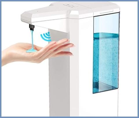 Dispenser erogatore infrarossi