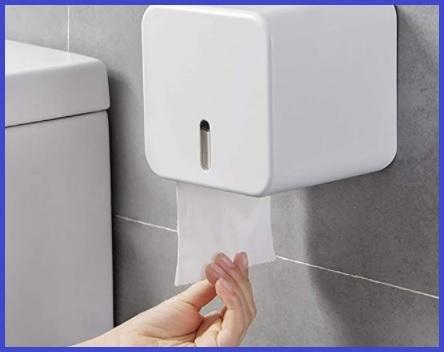 Dispenser per carta igienica impermeabile