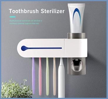 Dispenser dentifricio elettrico