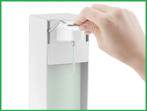 Dispenser disinfettante mani gel