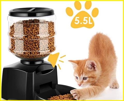 Dispenser cibo per gatti display