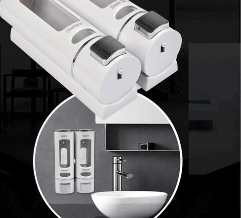 Dispenser sapone plastica trasparente