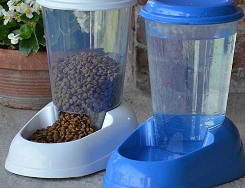 Distributori automatici di cibo per gatti