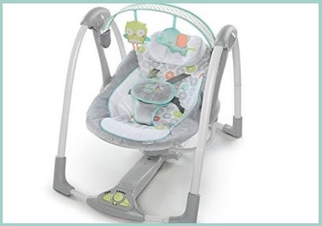 Dondolo neonati automatico