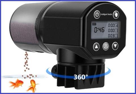 Dosatore mangime pesci acquario