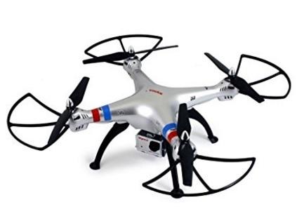 Drone Con Telecamera Hd E Giroscopio Syma