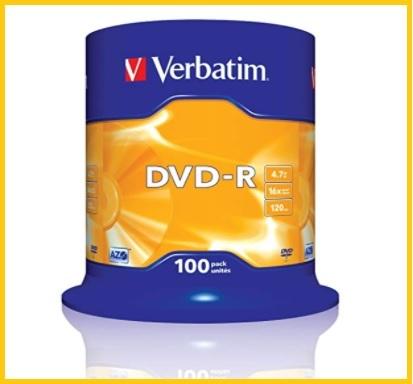 Dvd Vergini 50 Pezzi