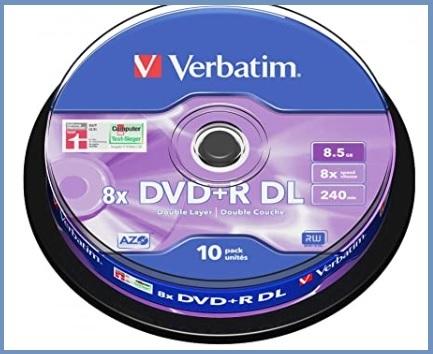 Dvd Vergini Dual Layer