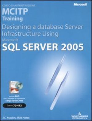 Server infrastructure using microsoft sql server 2005