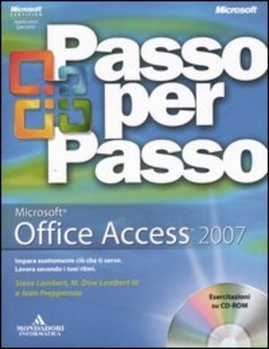 Microsoft office access 2007. con cd-rom