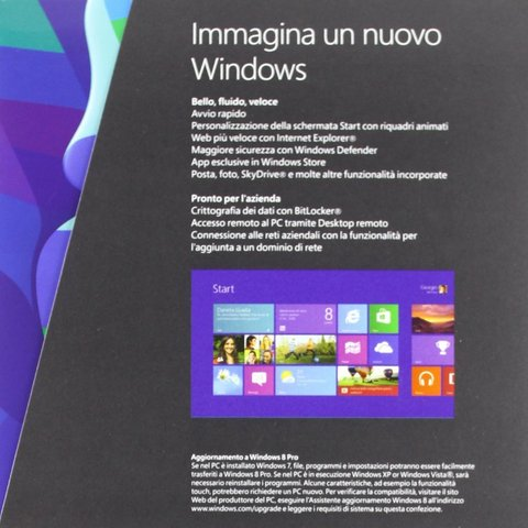 Windows 8 pro, upgrade edition