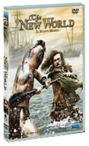 The new world - il nuovo mondo 1 dvd + block notes
