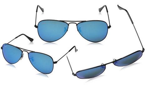 Occhiali metallo sole ray ban junior