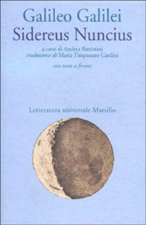 Sidereus nuncius. testo originale a fronte