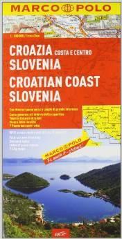 Slovenia. croazia 1:300.000