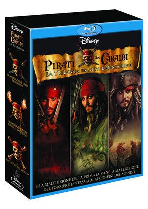 Pirati dei caraibi la trilogia 3 dvd
