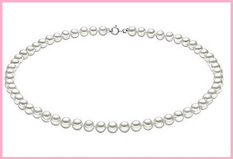 Collana di perle per donna comete