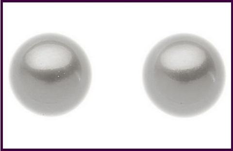 Orecchini di perla comete