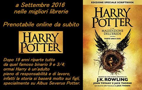 Harry Potter L'ottavo Libro La Maledizione Dell'erede