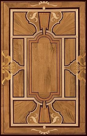 Pavimenti intarsiati legno
