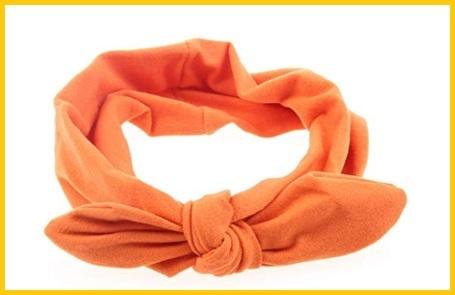 Elastico arancione capelli
