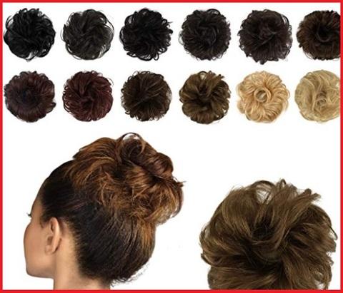 Elastici capelli chignon extension