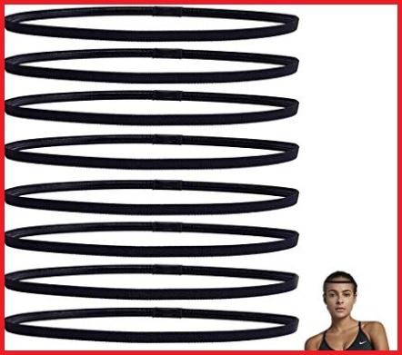 Elastico nero fitness capelli