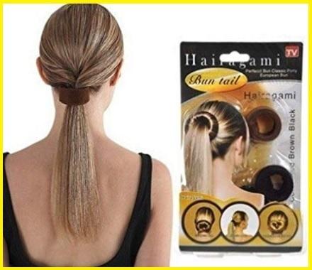 Elastico treccia capelli classica