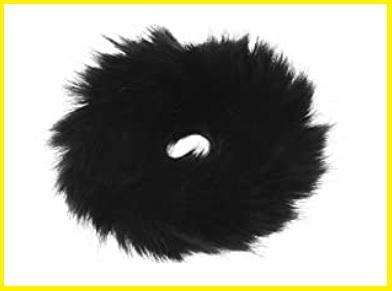 Elastico in pelliccia per donna