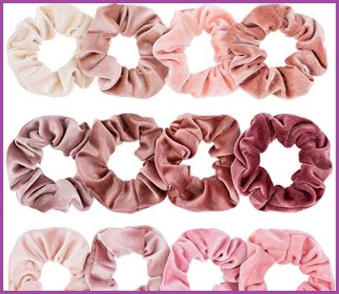 Elastico Rosa Per Capelli
