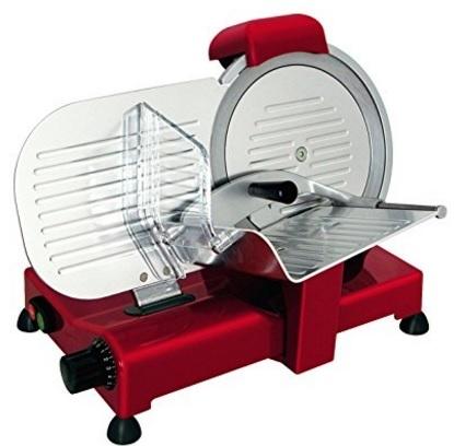 Affettatrice rossa in alluminio 140 watt