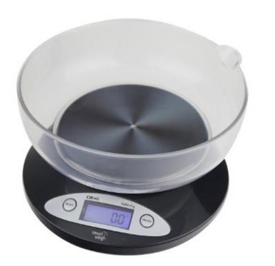 Bilancia da cucina digitale con vassoio removibile