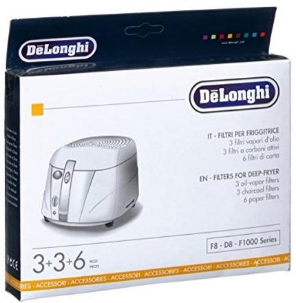 Cambio filtri per friggitrici de longhi