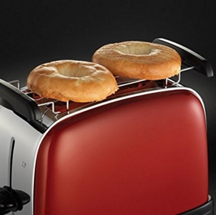 Tostapane classico rosso russell hobbs