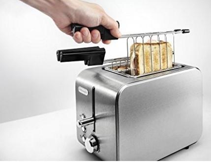 Tostapane de longhi in acciaio elettrico