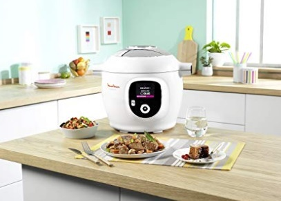Pentola slow cooker con timer