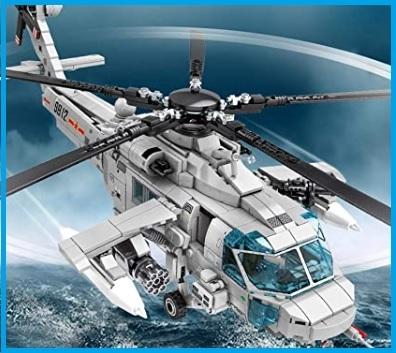 Elicottero giocattolo militare
