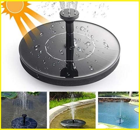 Energia solare fontana