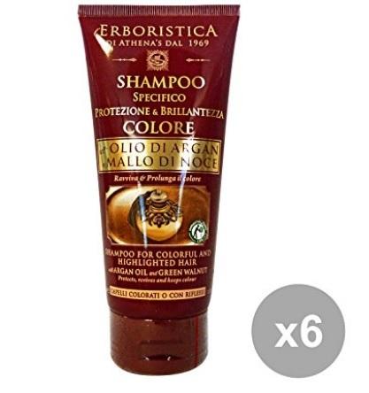 Prodotto erboristico colore argan noce per capelli