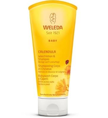 Doccia shampoo baby alla calendula erboristeria