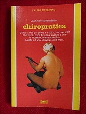 Libro chiropratica tecnica di manipolazione