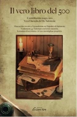 Libro sull'antica magia nera contiene 45 talismani