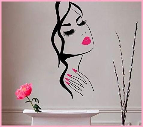 Estetista adesivi muro